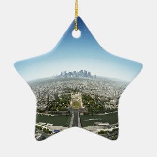 Planeta París Ornaments Para Arbol De Navidad