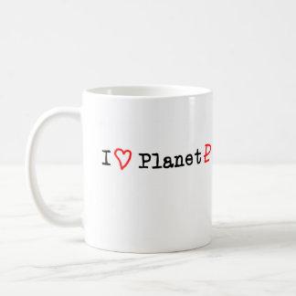"""Planeta Plutón del """"corazón I"""" Taza De Café"""