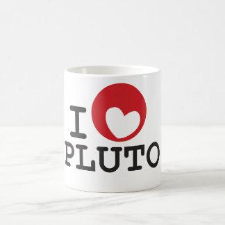 Planeta Plutón - taza de Plutón del amor de la