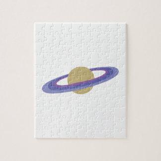 Planeta Saturn Rompecabezas