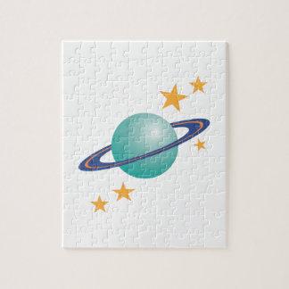 Planeta Saturn Rompecabeza