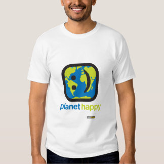 Planeta sonriente playera