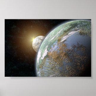 Planeta terrestre posters