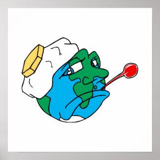 Planeta triste póster