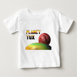 Planeta Tux Playera De Bebé