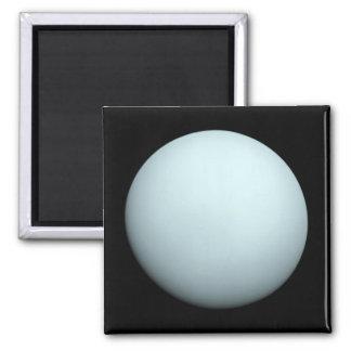Planeta Urano Imán Cuadrado