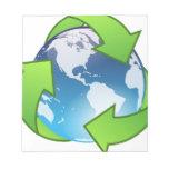 Planeta verde blocs de notas