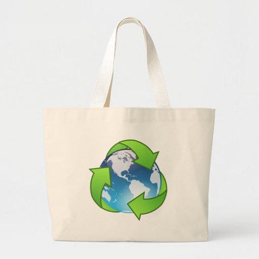 Planeta verde bolsas de mano