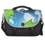 Planeta verde bolsas de ordenador