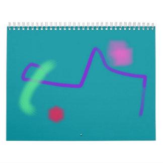 Planeta verde calendario