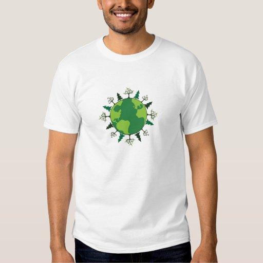 Planeta verde camisas