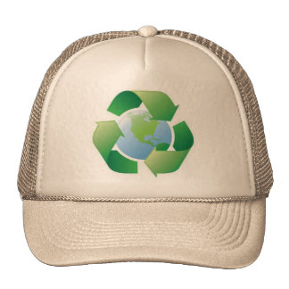 planeta verde gorro de camionero