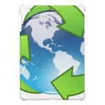 Planeta verde iPad mini protector