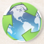 Planeta verde posavasos manualidades