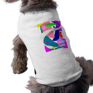 Planeta vital exacto correcto de la poesía de la c playera sin mangas para perro