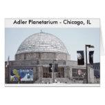 Planetario de Adler - Chicago, IL Felicitación