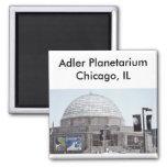 Planetario de Adler - Chicago, IL Imán Para Frigorífico