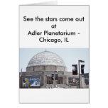 Planetario de Adler - Chicago, IL Tarjeton