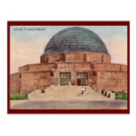 Planetario de Adler, vintage 1933 de Chicago Tarjetas Postales