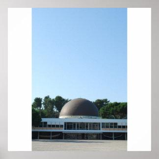 Planetario de Calouste Gulbenkian en Lisboa Póster