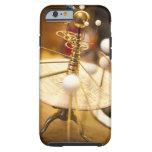 Planetario de cobre amarillo handcrafted funda de iPhone 6 tough
