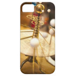 Planetario de cobre amarillo handcrafted iPhone 5 fundas