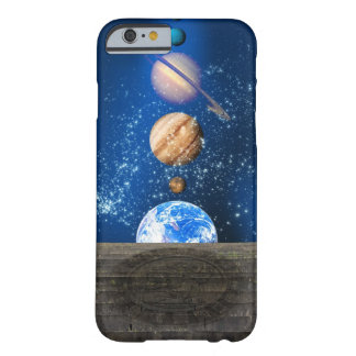 Planetary alignment, computer artwork. barely there iPhone 6 case