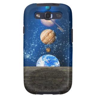 Planetary alignment, computer artwork. galaxy s3 case