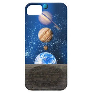 Planetary alignment, computer artwork. iPhone SE/5/5s case