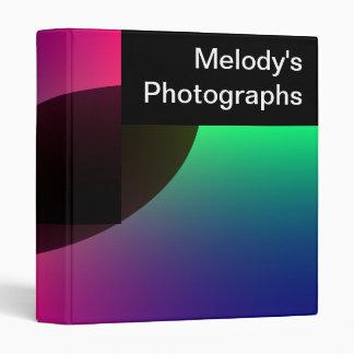 Planetary Aurora Custom Photograph Album 3 Ring Binder