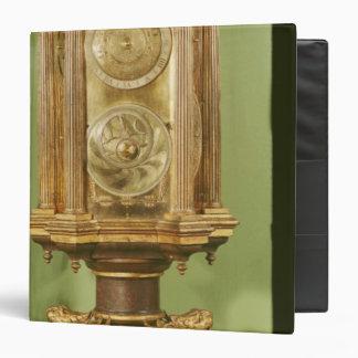 Planetary clock completed in 1520 vinyl binder