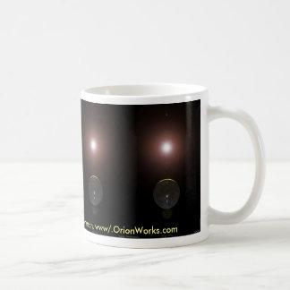 Planetary Crescent, Planetary Crescent, Planeta... Coffee Mug