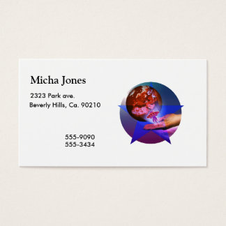 Planetary Handout Business Card