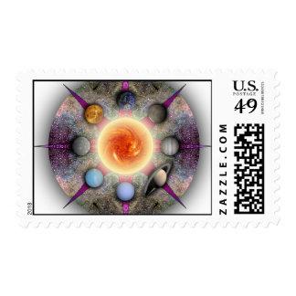 Planetary Mandala Stamp