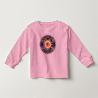 Planetary Mandala Toddler Long Sleeve Toddler T-shirt