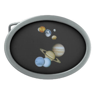Planetary Montage Belt Buckle