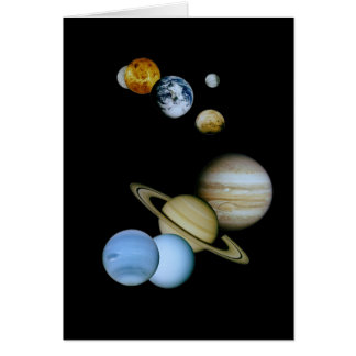 Planetary Montage Card