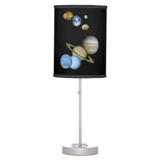 Planetary Montage Desk Lamp