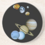 Planetary Montage Drink Coaster