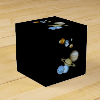 Planetary Montage Favor Box
