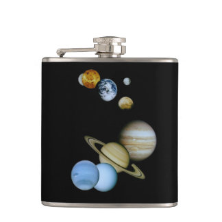 Planetary Montage Flask