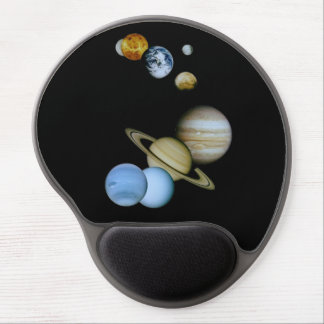 Planetary Montage Gel Mouse Pad