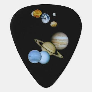 Planetary Montage Guitar Pick