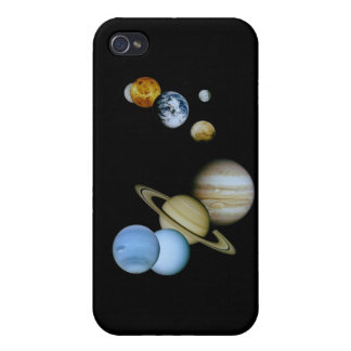 Planetary Montage iPhone 4 Covers