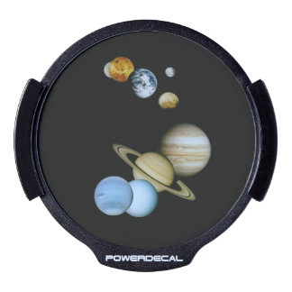 Planetary Montage LED Car Decal