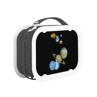 Planetary Montage Lunch Box