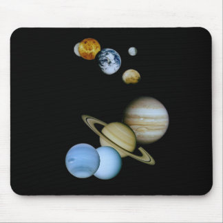 Planetary Montage Mouse Pad