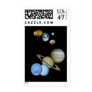Planetary Montage Postage
