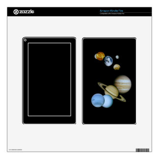 Planetary Montage Kindle Fire Decals