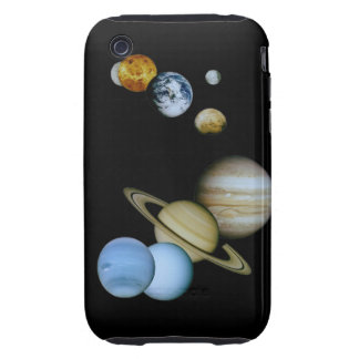 Planetary Montage Tough iPhone 3 Cases